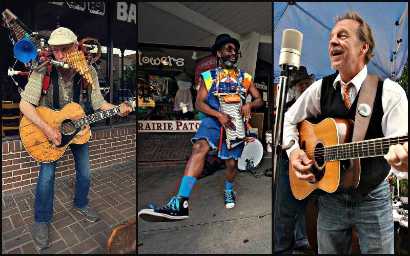Busker Fest Musicians