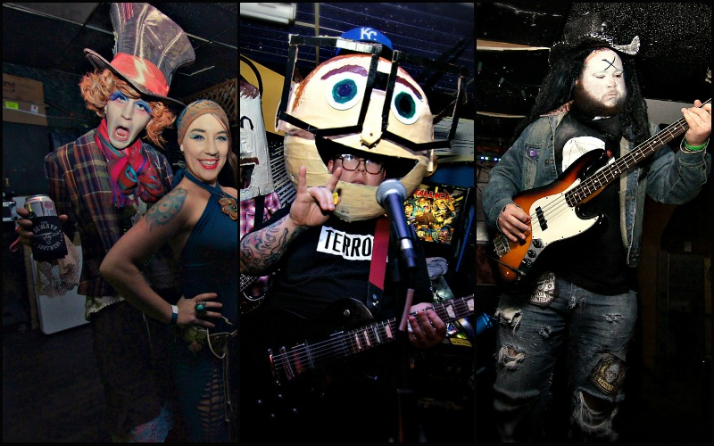 Musicians on Halloween