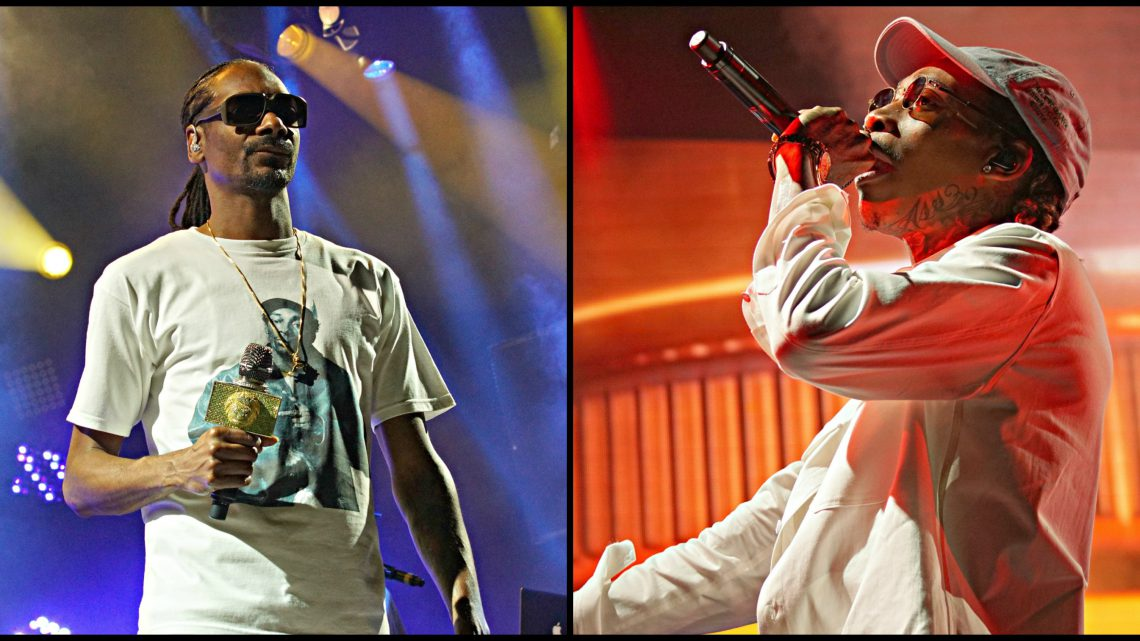 Snoop Dogg and Wiz Khalifa / Photo by Fally Afani