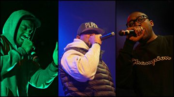 Ghostface Killah Stik Figa BLKFLANL / Photo by Fally Afani