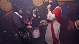 JC and the Nuns / Photo by Fally Afani