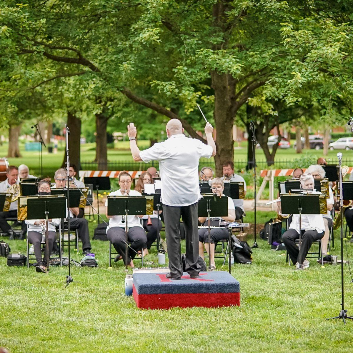Lawrence City Band / Photo by Fally Afani